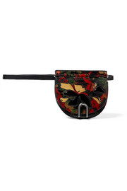 3.1 Phillip Lim Hana printed textured-leather belt bag