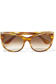 Thierry Lasry Polygamy cat-eye acetate and gold-plated sunglasses