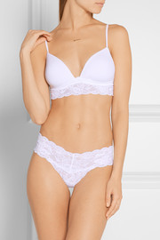Never Say Never Cutie stretch-lace thong