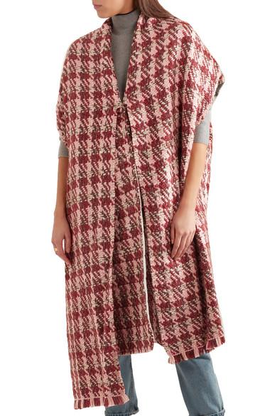 Gabriela Hearst. Elizabeth reversible wool-blend-tweed coat