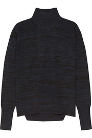 Dion Lee Open-back mélange merino wool sweater