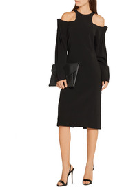 Dion Lee Cutout stretch-crepe dress