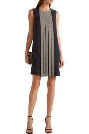 Dion Lee Swarovski crystal-embellished silk-crepe dress