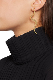 Kenneth Jay Lane Gold-plated earrings