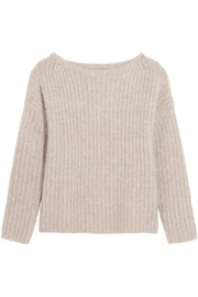Vince Ribbed cashmere-blend sweater