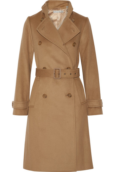 Vince - Wool And Cashmere-blend Trench Coat - Camel