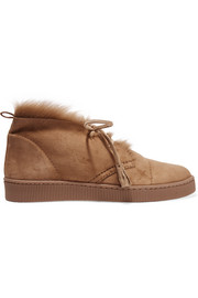 Pedro Garcia Parley shearling-lined suede desert boots