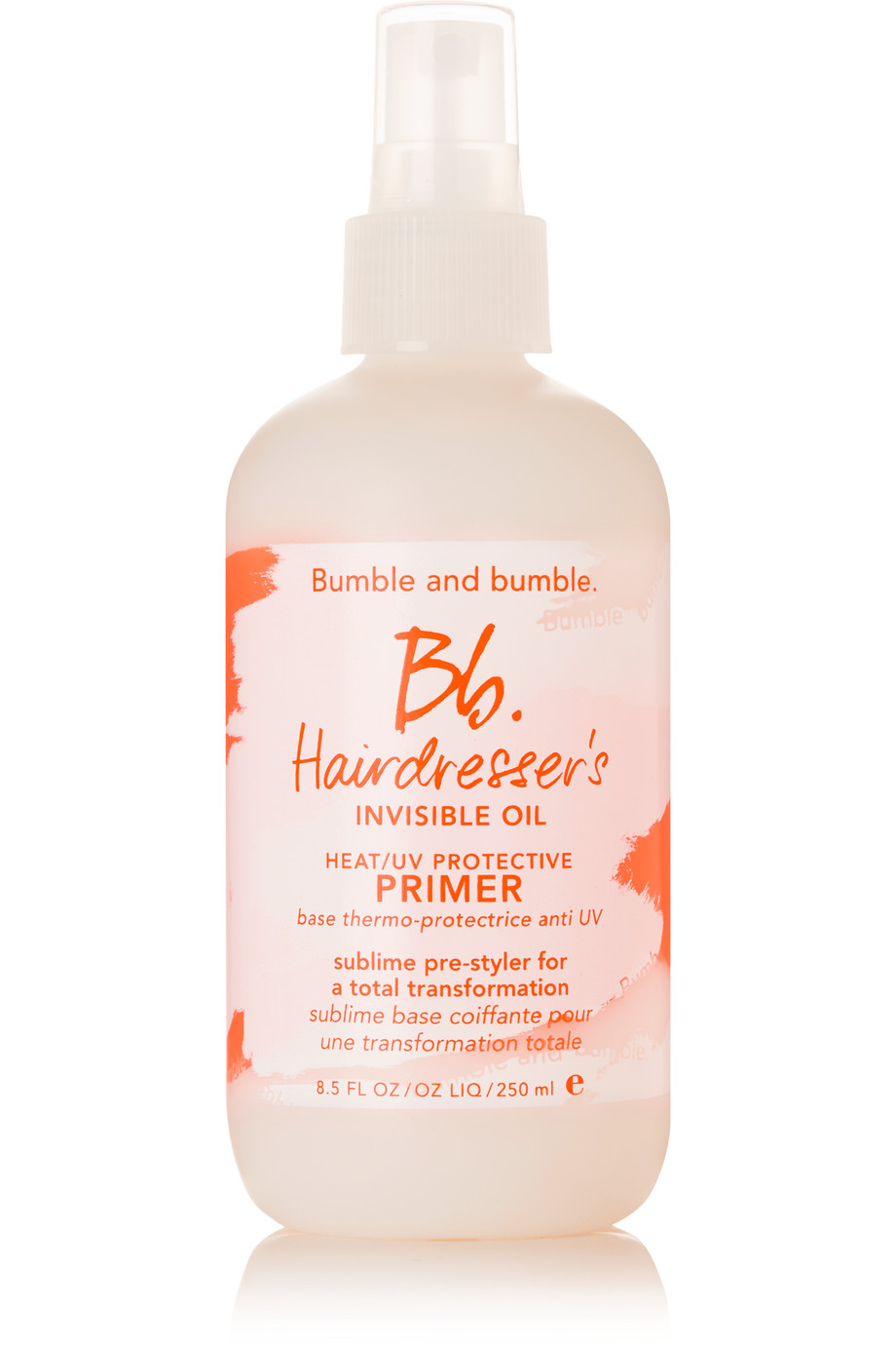 Hairdresser's Invisible Oil Primer, 250ml