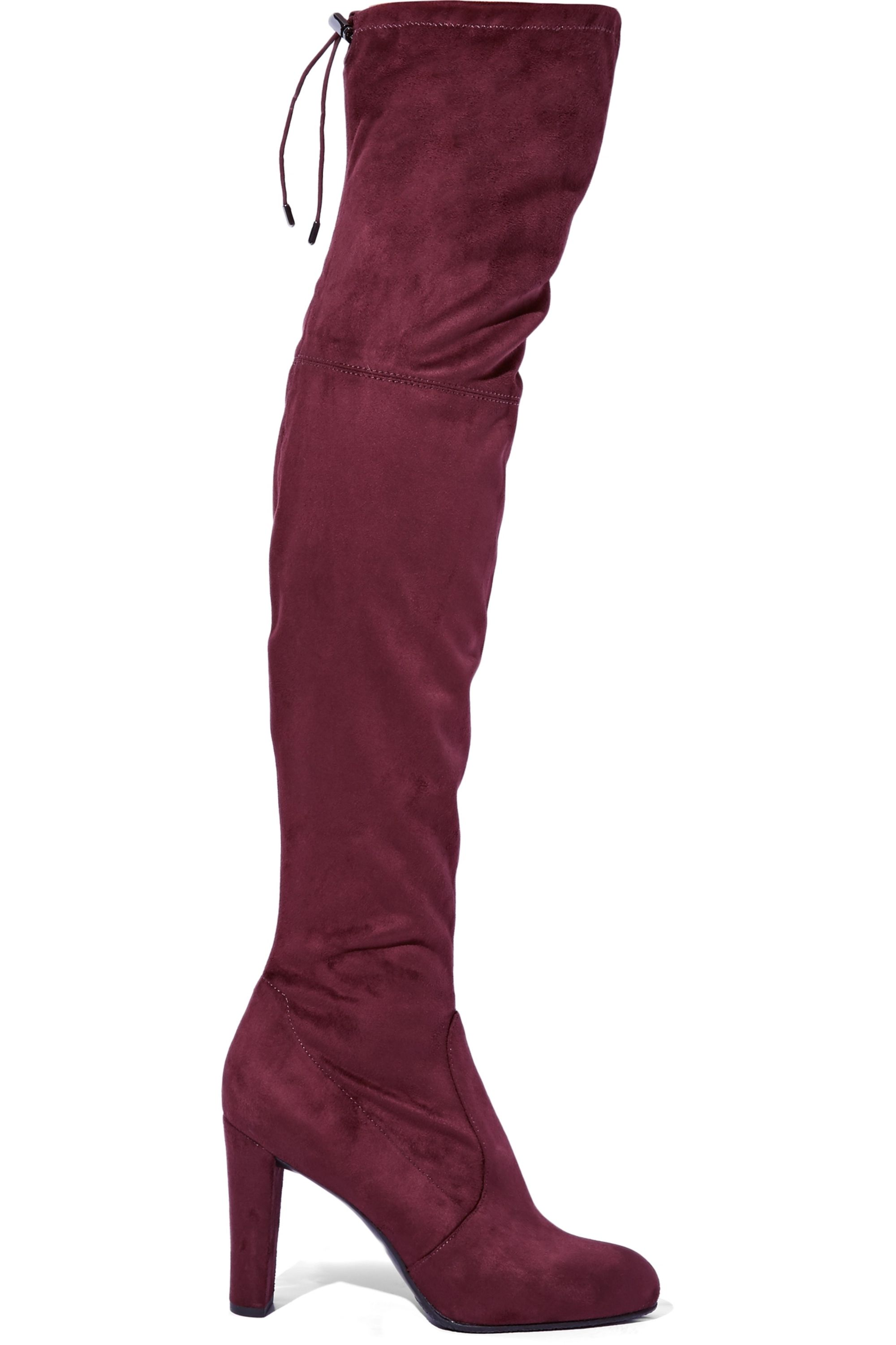 Sam Edelman Kent stretch-suede over-the-knee boots