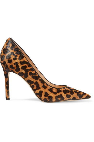 Sam Edelman - Hazel Leopard-print Calf Hair Pumps - Leopard print