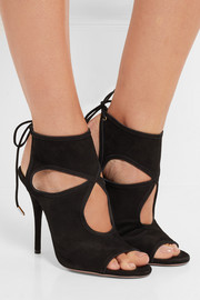 Sexy Thing cutout suede sandals
