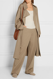Loreno wool-gabardine trench coat