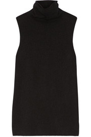 The Row Leona wool and cashmere-blend turtleneck top