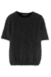 Latilde brushed angora-blend sweater