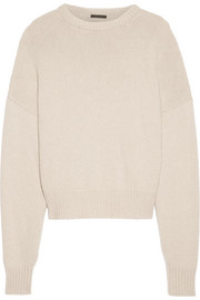 Ophelia oversized wool and cashmere-blend sweater
