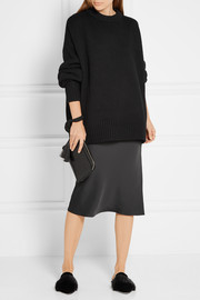 The Row Ophelia oversized wool and cashmere-blend sweater