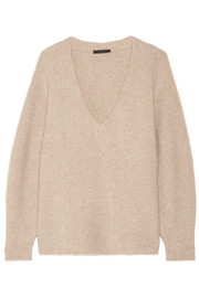 The Row Babbie oversized cashmere-blend sweater