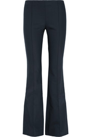 Becaro stretch-cady flared pants