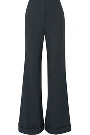 Winona stretch-wool wide-leg pants