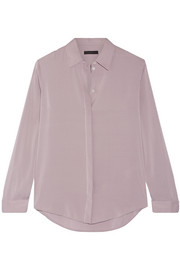 Petah stretch-silk shirt