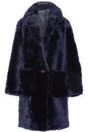 Helmut Lang Oversized shearling coat