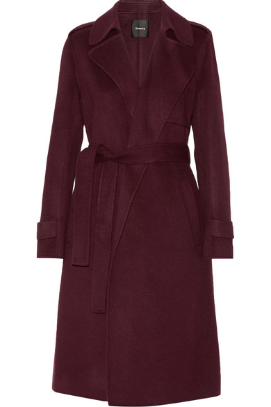 35e90fee70e Theory | Oaklane wool and cashmere-blend trench coat | NET-A-PORTER.COM