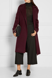 Theory Oaklane wool and cashmere-blend trench coat