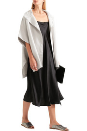 Theory Palomina oversized wool-blend cape