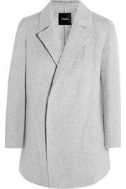 Clairene brushed wool and cashmere-blend jacket