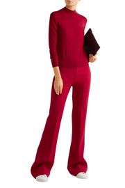 Theory Demitria stretch-wool flared pants