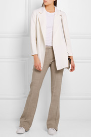Theory Clairene brushed wool and cashmere-blend jacket