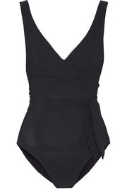 Karla Colletto Wrap-effect swimsuit