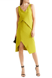 Narciso Rodriguez Asymmetric stretch-crepe dress