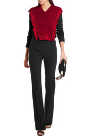 Altuzarra Ming fringed wool sweater