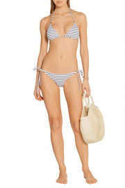 Melissa Odabash Key West striped triangle bikini