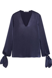 Elizabeth and James Astrid satin blouse