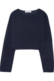 Vann cropped knitted sweater