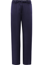 Elizabeth and James Gavin silk-satin wide-leg pants