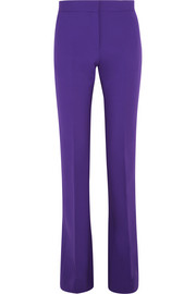 Victoria, Victoria Beckham Stretch wool-crepe flared pants