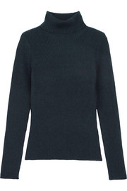 3.1 Phillip Lim Ribbed stretch-wool turtleneck sweater