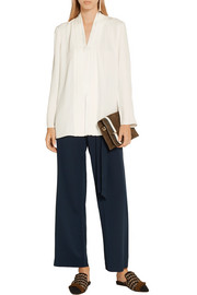 Adam Lippes Crepe blouse