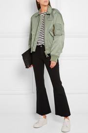 Lou cropped mid-rise flared jeans