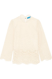 Esbaran guipure lace top