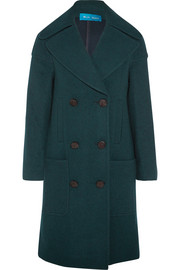 Richards double-breasted wool-blend coat