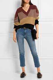 M.i.h Jeans Hughes oversized alpaca and wool-blend sweater