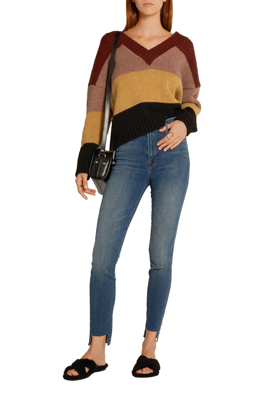 J Brand Carolina high-rise skinny jeans
