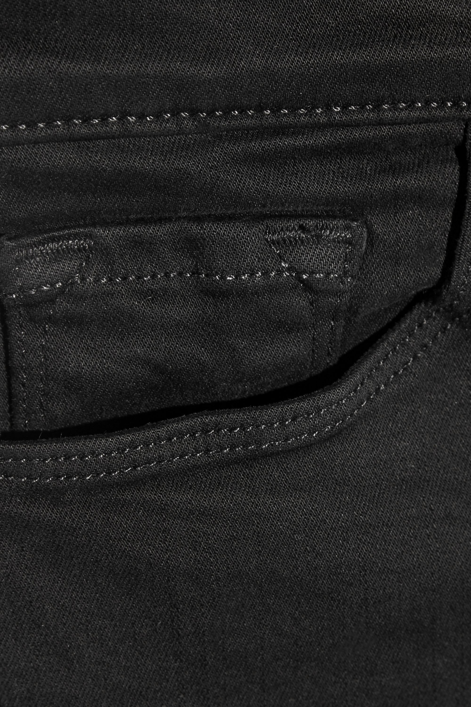J Brand Selena halbhohe verkürzte Bootcut-Jeans