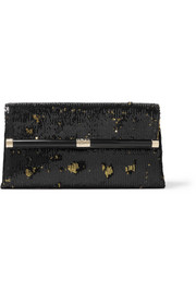 440 Envelope sequined clutch