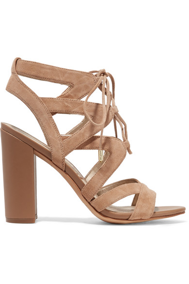 71d56f8ee3b6c Sam Edelman. Yardley lace-up suede sandals