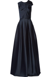 Jason Wu Gathered satin-crepe gown